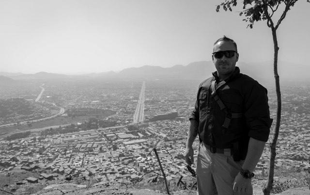Jonathan L'Heureux à Kaboul.